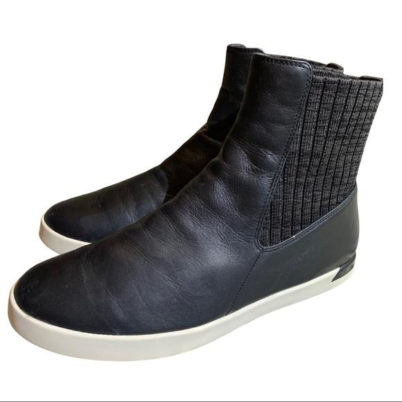 Vince Shoes | Vince Vidra Black Leather